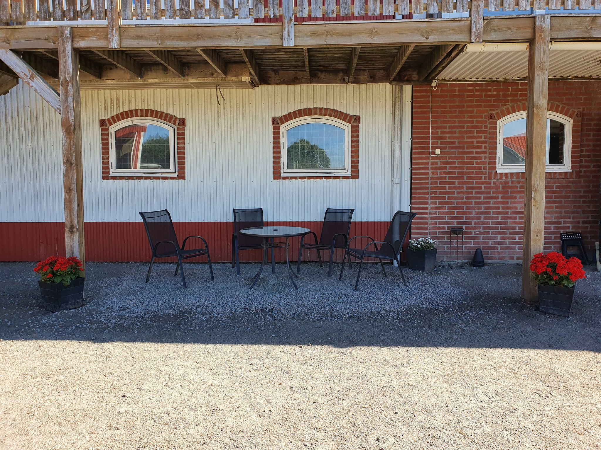 Uteplats stall